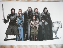 House Stark by dottypurrs