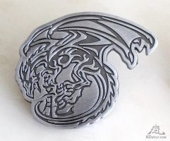 Dragon metal badge pin  SOLD OUT by J-C