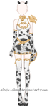 [OPEN] Cow Armour Adoptable by Aloise-chan