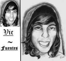 Vic Fuentes by deemoelester