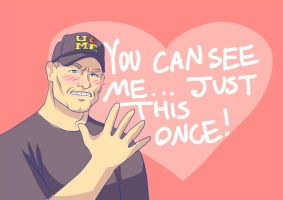 A Very Cena Valentine by Wolefen