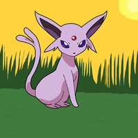Espeon by ObstinateAnarchist