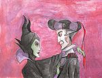Maleficent and Frollo by Katuszka-chan