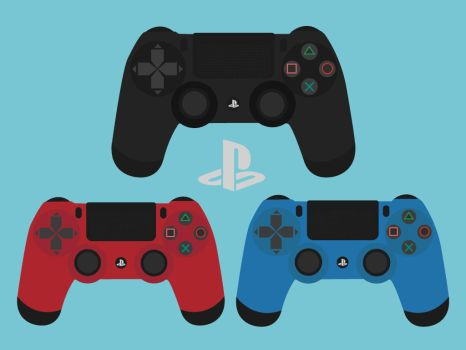 Ps4 Pads (All colors) by GrubyKisiel