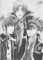 D. Gray-Man Trio by XionCloudHeaven