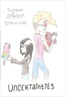 ToS- Torvin vs Luna by candlehat