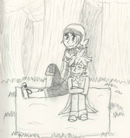 Chilling in the Woods by pokemonpuppy1