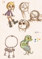 Concept Sketches by incongruousinquiry