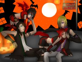 Happy Halloween from Haruto and Friends! by YamiRiusu