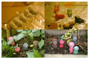 Little vegetable people by perfectnoseclub