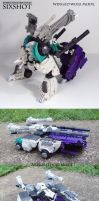 Terminus Hexatron Sixshot with Review by Unicron9