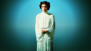 Carrie Fisher Princess Leia XXXVI by Dave-Daring