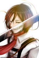 There is a Titan With in Everyone (Mikasa) by EienSketcher
