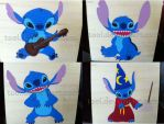 The Faces of Stitch by Tooi