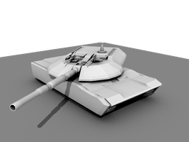 Defender III Main Battle Tank by Stealthflanker
