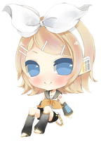 Chibi Rin Kagamine by Cubic-Factory