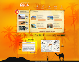 Design For 'Mega Travel' by lukearoo