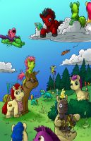 Family Reunion... In ponies by Sethmonster