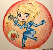 Day 45: Zero Suit by LaPetitLapearl