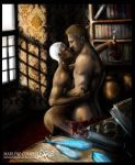 Grey Warden and Cullen by Marlene-Cooper