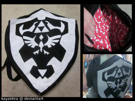 Dark Link Shield Backpack by kayzebra
