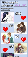 My Top 10 Couples -Naruto- by AnImEaNdMaNgAfOrEvEr