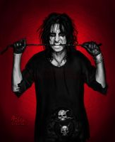 GO TO HELL - Alice Cooper by Red-Szajn
