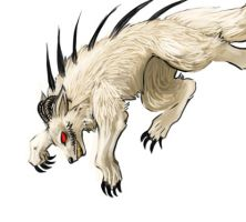 Skark- wolf form by wingedness