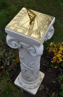My New Sundial by Forestina-Fotos