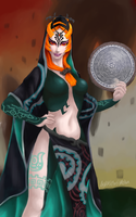 Hyrule Warriors Midna by LightWorldMidna