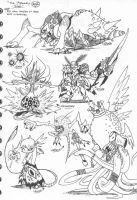 The 7 Deadly Sins by Kainsword-Kaijin