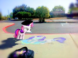 Artsy Fartsy Sweetie Belle FIXED by OstiChristian