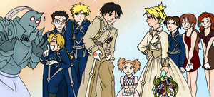 FMA Wedding by Axe-Girl