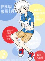Prussia-hold bunnies-request by megane-neko