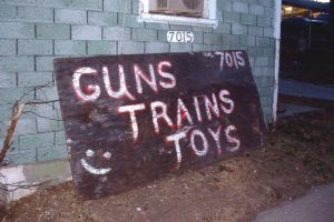 Guns Trains Toys by neuget