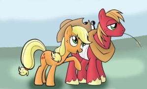best sister and brother by Mast88