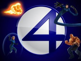 Fantastic Four Wallpaper by queerfantasy