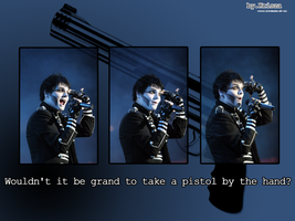 Gee and pistol wallpaper by Krisza