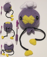 Knitted Drifloon Plush by Vidimus78