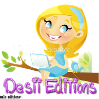 Texto PNG Desii Editions by Melody478