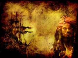 Wall: Pirates of the Caribbean by Stich83