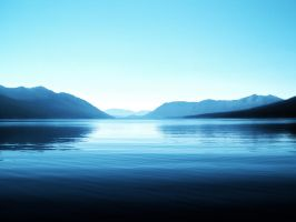Lake McDonald from the Middle by loathsome-weasel