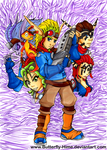 Jak and Daxter by Butterfly-Hime