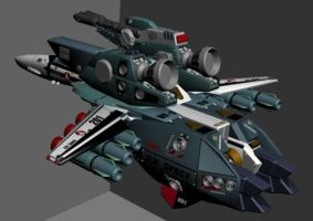 MACROSS VF 1 S VALK 2 by dagova