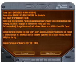 Mass Effect data pad ID by AREALLYCRAZYGUY