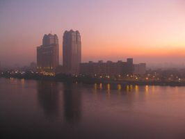 Cairo Sunrise by zzzSoleyeszzz