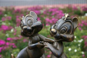 Chip and Dale by morphinetears36