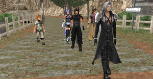 Road of nibelheim for welcoming Keyblade Masters by Hatredboy