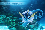 Vaporeon Photo Manip by Michalv