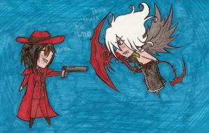 Trinity Blood Vs. Hellsing by Demon-Moon